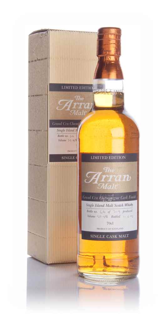 Arran Grand Cru Champagne Cask Finish 59%