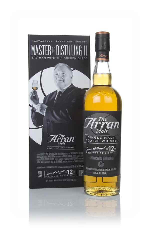 Arran Master of Distilling II - The Man with the Golden Glass