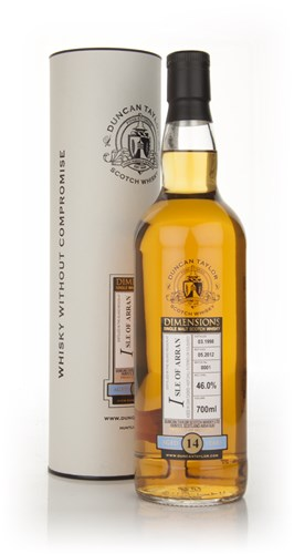 Isle of Arran 14 Year Old 1998 - Dimensions (Duncan Taylor)