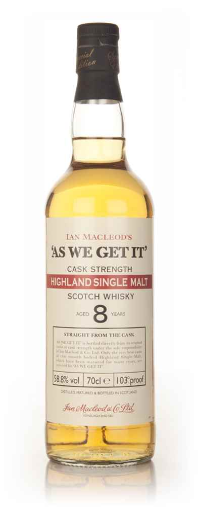 Highland 8 Year Old - As We Get It (Ian Macleod)