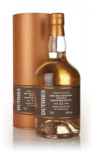 Auchentoshan 11 Year Old - Duthies (WM Cadenhead)