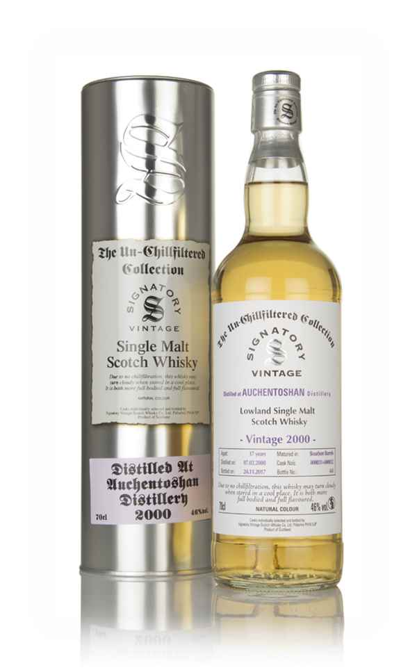 Auchentoshan 16 Year Old 2000 (cask 800031 & 800032) - Un-Chillfiltered Collection (Signatory)