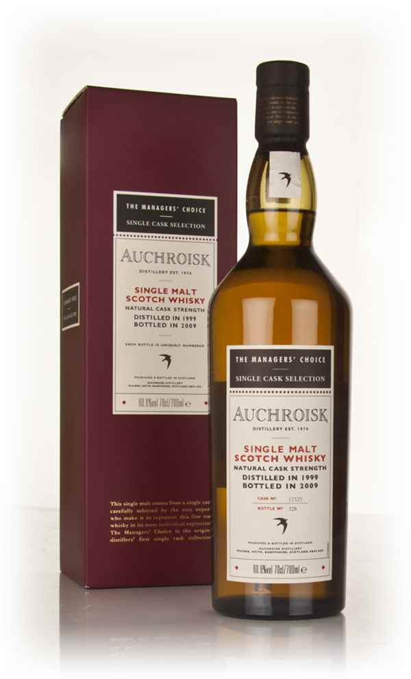 Auchroisk 1999 - Managers Choice