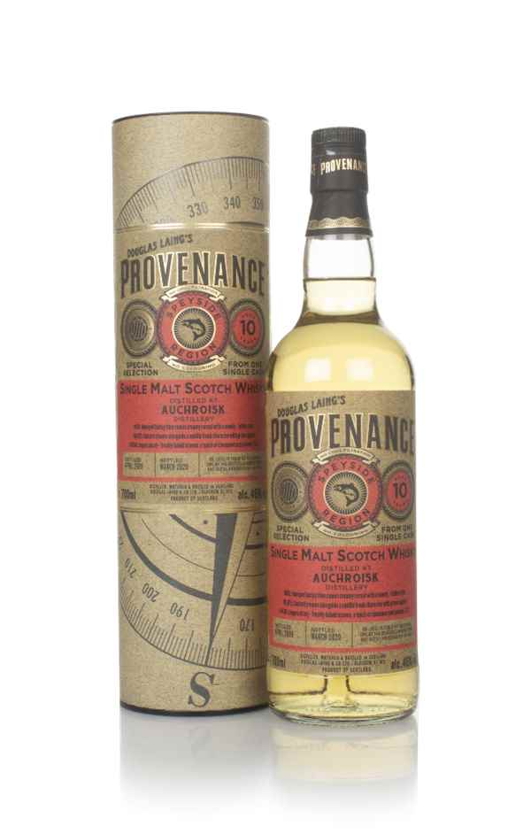 Auchroisk 10 Year Old 2009 (cask 14018) - Provenance (Douglas Laing)