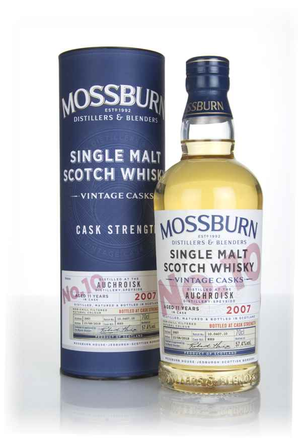 Auchroisk 11 Year Old 2007 - Cask Strength (Mossburn)