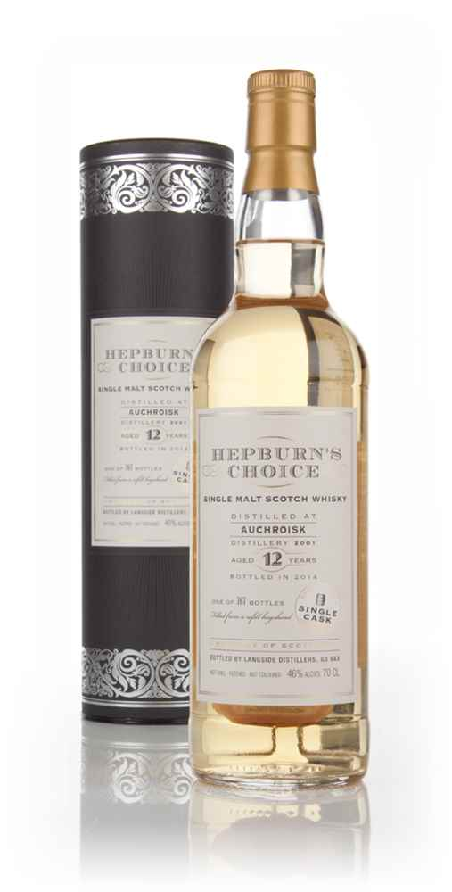 Auchroisk 12 Year Old 2001 - Hepburn's Choice (Langside)