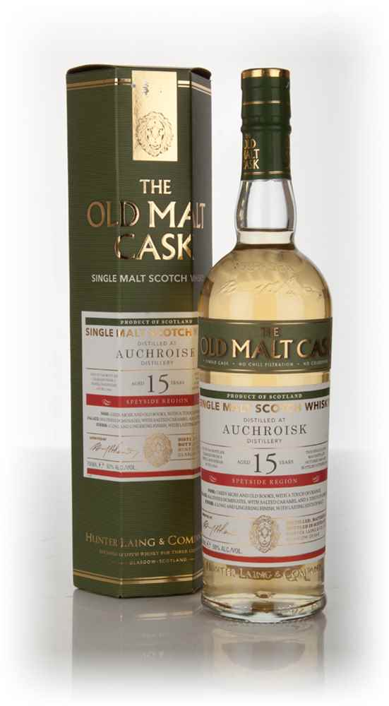 Auchroisk 15 Year Old 2000 (cask 11944) - Old Malt Cask (Hunter Laing)