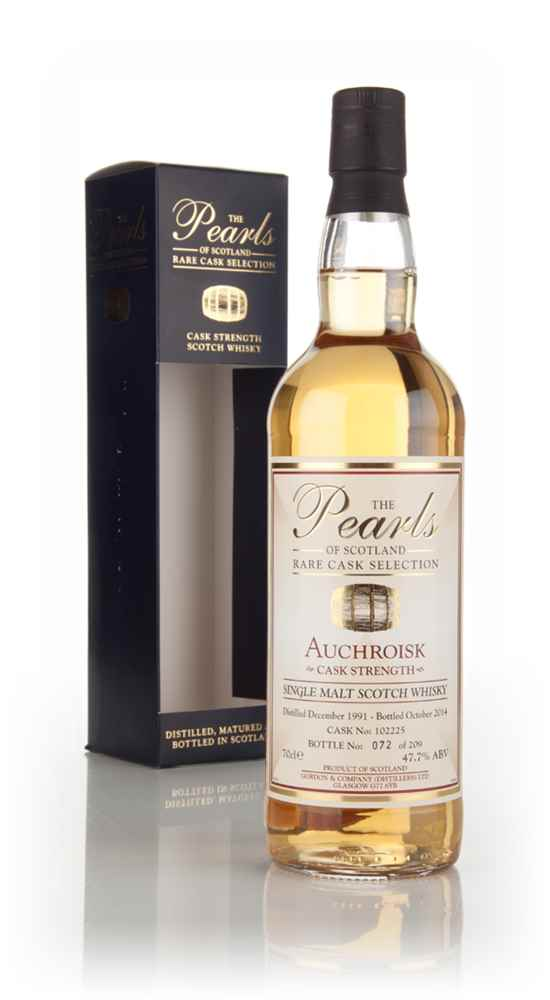 Auchroisk 22 Year Old 1991 (cask 102225) - Pearls of Scotland (Gordon and Company)