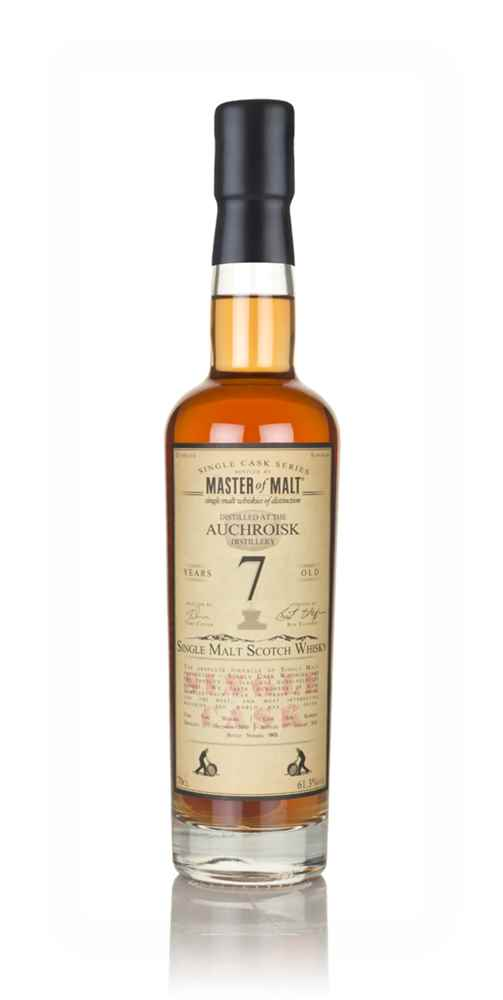 Auchroisk 7 Year Old 2010 - Single Cask (Master of Malt)
