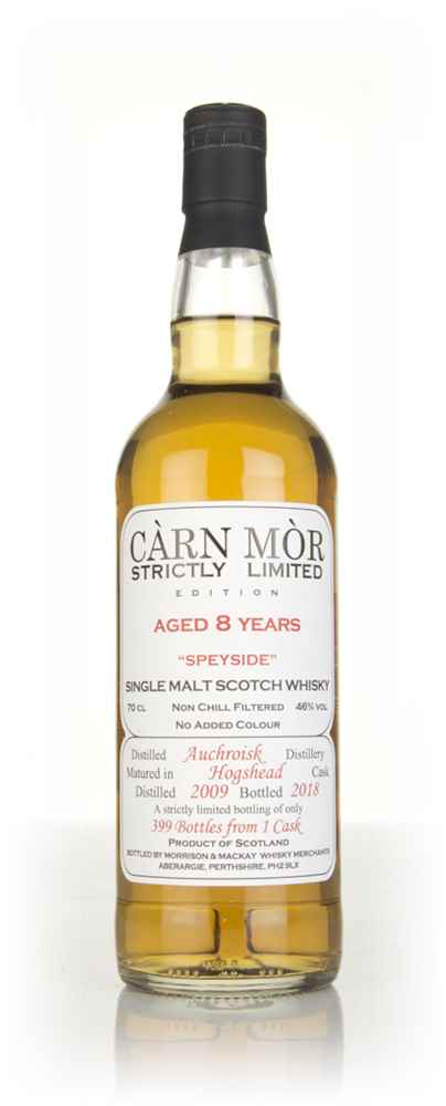 Auchroisk 8 Year Old 2009 - Strictly Limited (Càrn Mòr)