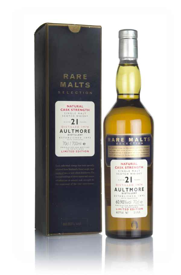 Aultmore 21 Year Old 1974 - Rare Malts