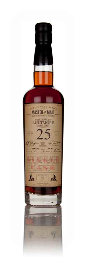 Aultmore 25 Year Old 1990 - Single Cask (Master of Malt)