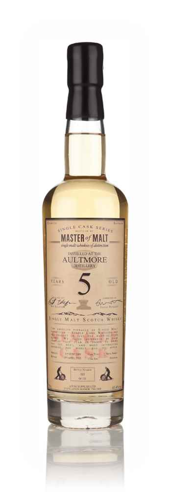 Aultmore 5 Year Old 2009 - Single Cask (Master of Malt)
