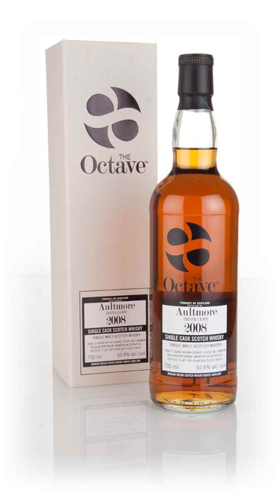 Aultmore 7 Year Old 2008 (cask 959938) - The Octave (Duncan Taylor)