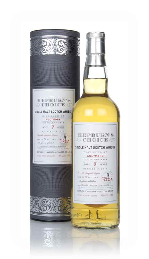 Aultmore 7 Year Old 2010 - Hepburn's Choice (Langside)
