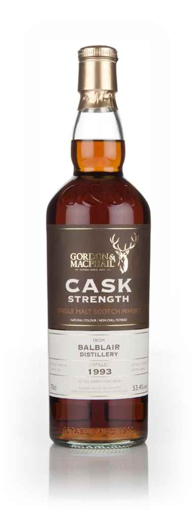 Balblair 21 Year Old 1993 (cask 1962) - Cask Strength (Gordon & MacPhail)