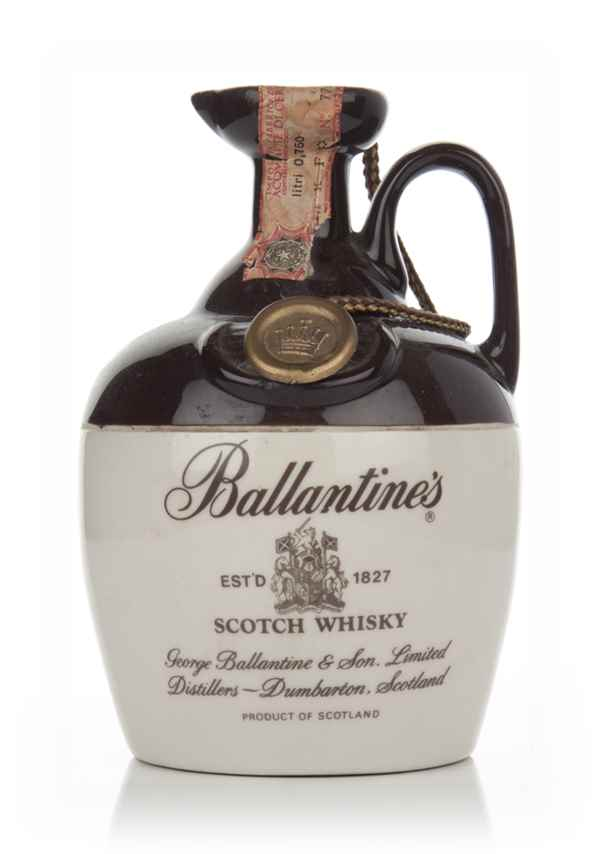 Ballantine's Blended Scotch Whisky (in Ceramic Jug) - 1970s