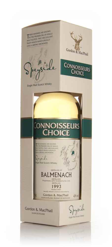 Balmenach 1993 - Connoisseurs Choice (Gordon and MacPhail)
