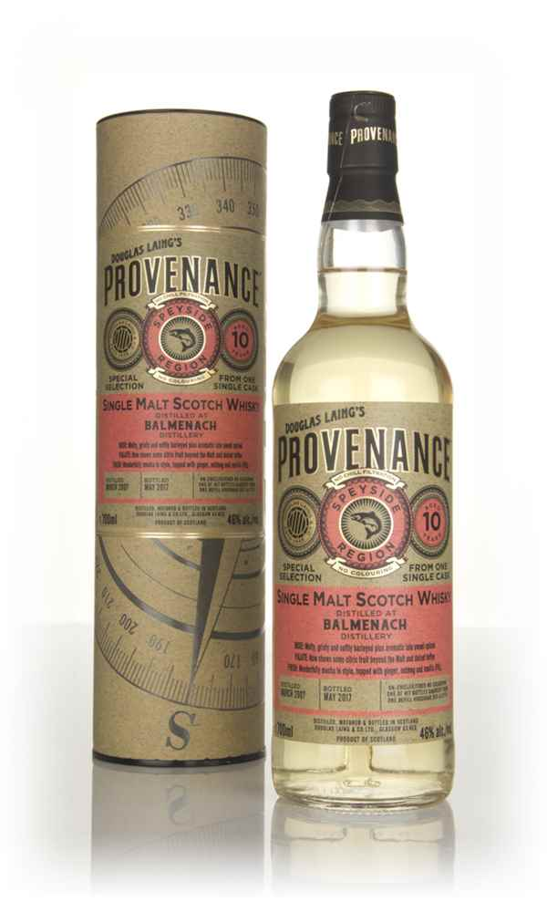 Balmenach 10 Year Old 2007 (cask 11774) - Provenance (Douglas Laing)