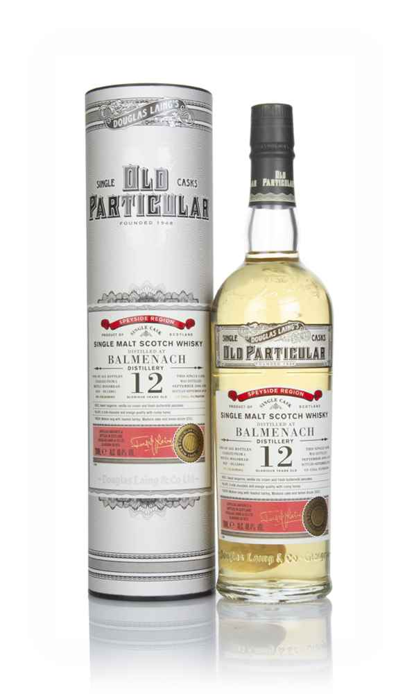 Balmenach 12 Year Old 2006 (cask 12801) - Old Particular (Douglas Laing)