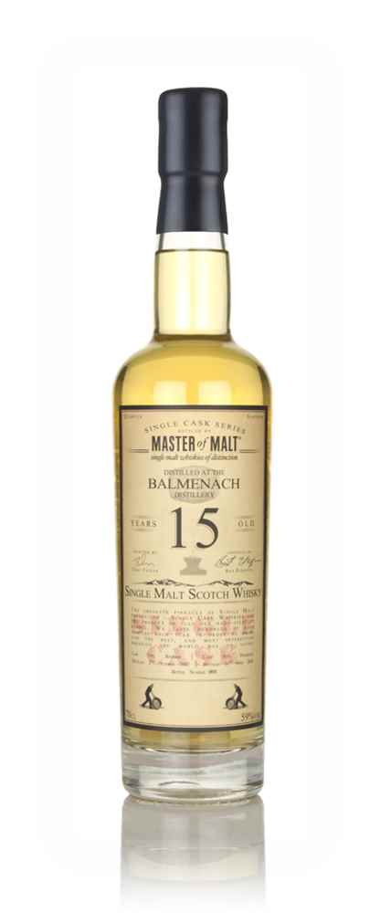 Balmenach 15 Year Old 2002 - Single Cask (Master of Malt)