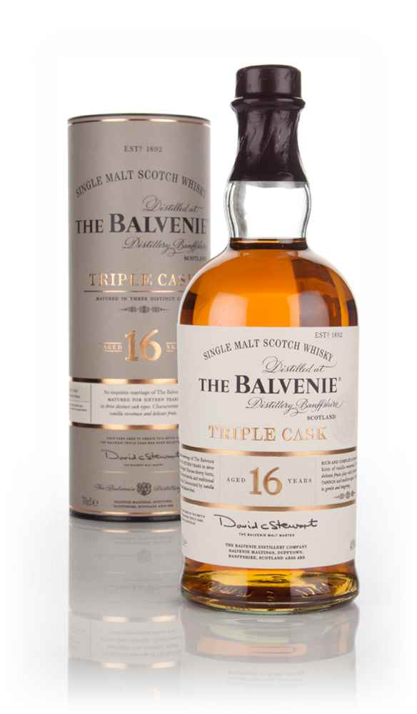 Balvenie 16 Year Old Triple Cask Whisky