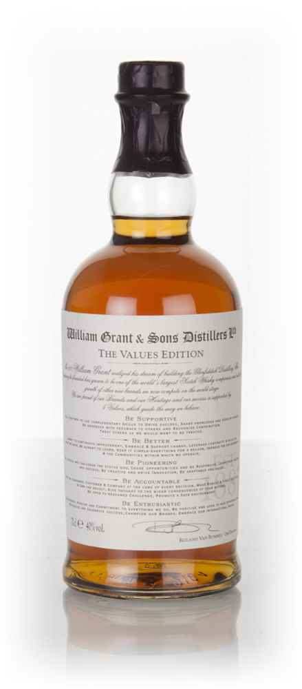 William Grant and Sons Distillers The Values Edition