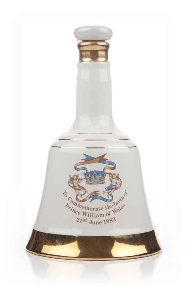 Bells Decanter Birth of Prince William of Wales 21st June 1982