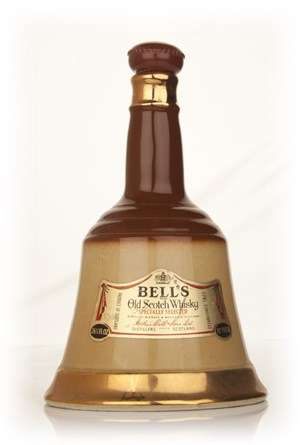 bellu0027s blended scotch whisky decanter 1970s - Whisky Decanter