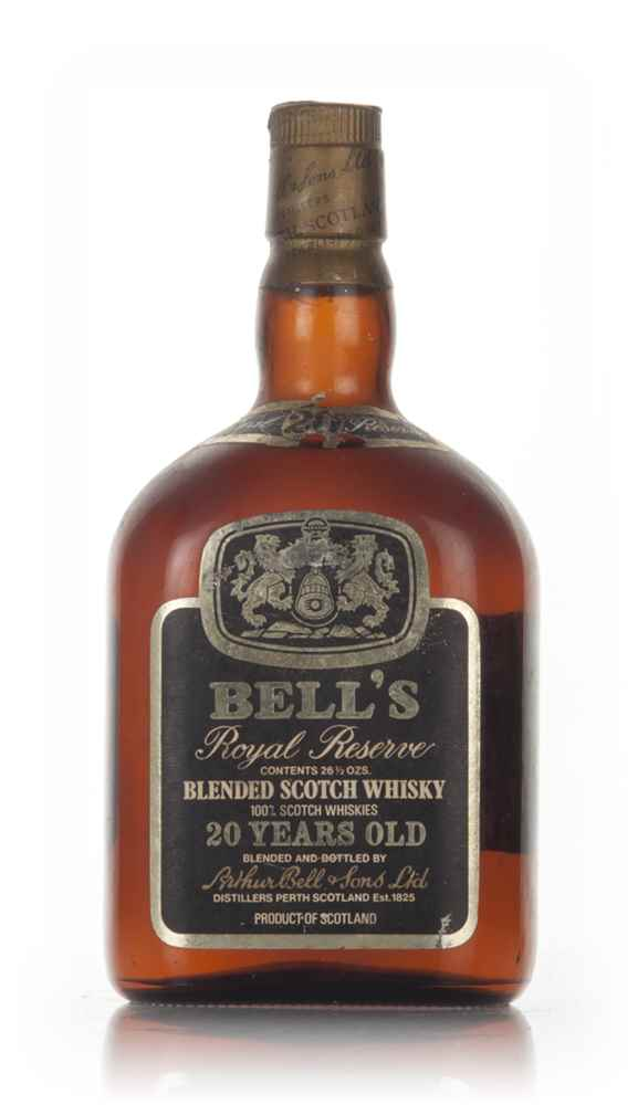 Bell's Royal Reserve 20 Year Old Blended Scotch Whisky - 1970s