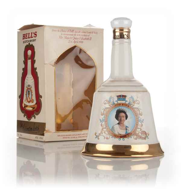 Bell's The Queen's 60th Birthday Decanter - 1986