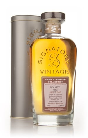Ben Nevis 15 Year Old 1992 - Cask Strength (Signatory)