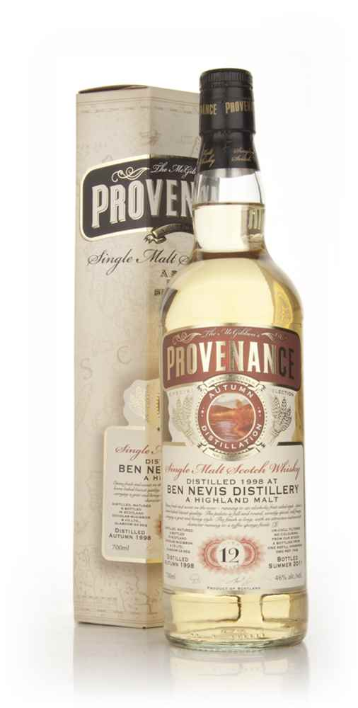 Ben Nevis 12 Year Old 1998 - Provenance (Douglas Laing)