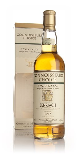 BenRiach 1987 - Connoisseurs Choice (Gordon and MacPhail)