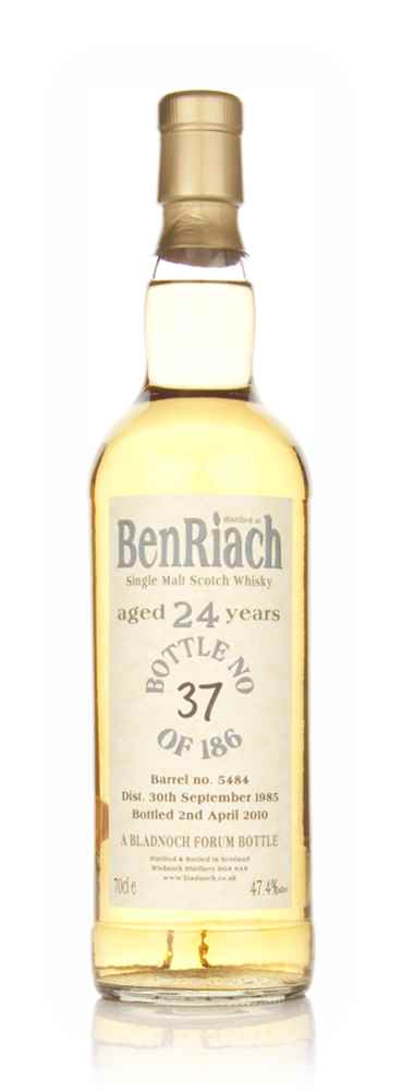 BenRiach 24 Year Old 1985 (Bladnoch)