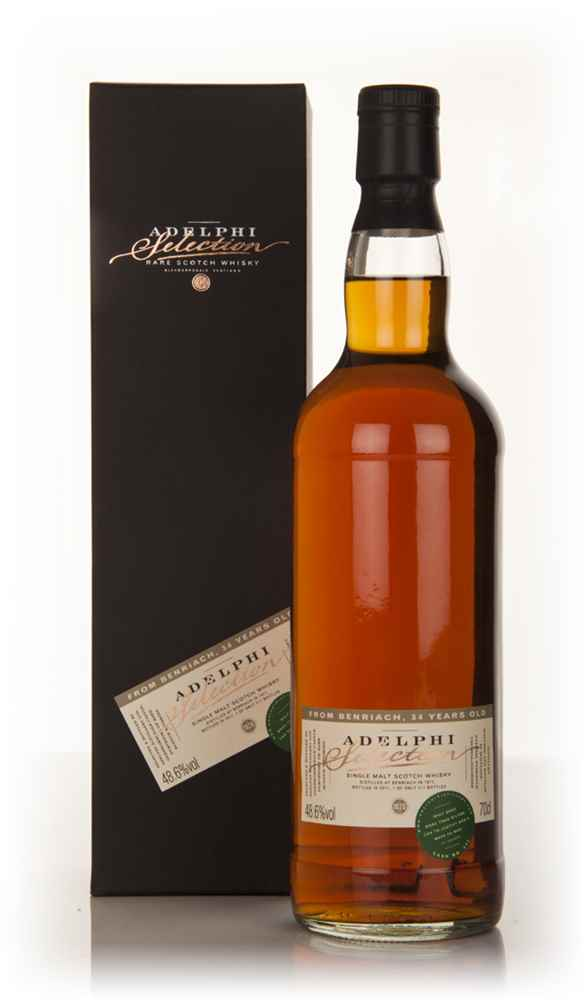 BenRiach 34 Year Old 1977 (Adelphi)