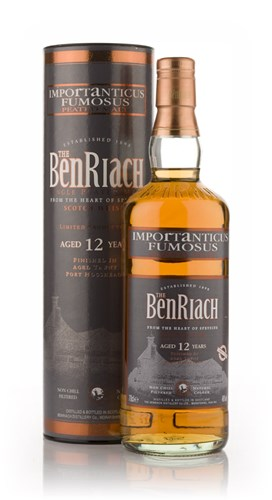 BenRiach Importanticus 12 Year Old (Tawny Port Finish)