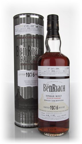 BenRiach 35 Year Old 1976 Sherry Butt