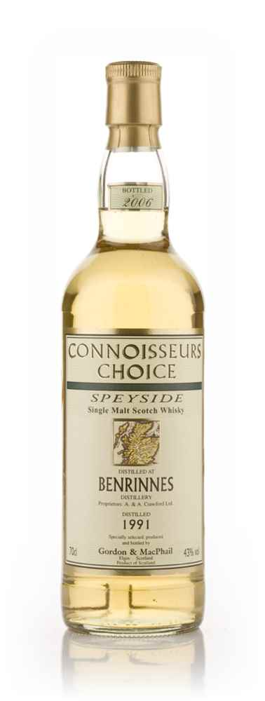 Benrinnes 1991 - Connoisseurs Choice (Gordon and MacPhail)