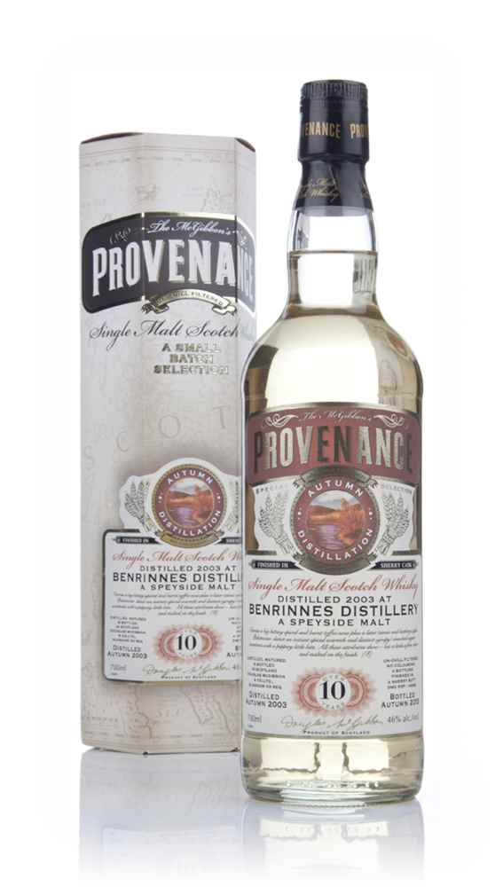 Benrinnes 10 Year Old 2003 (cask 10089) - Provenance (Douglas Laing)