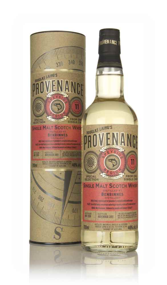 Benrinnes 11 Year Old 2006 (cask 12229) - Provenance (Douglas Laing)