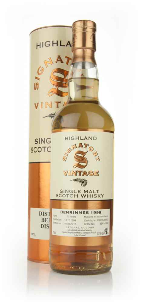 Benrinnes 12 Year Old 1999 (Signatory)