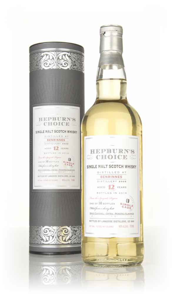 Benrinnes 12 Year Old 2005 - Hepburn's Choice (Langside)
