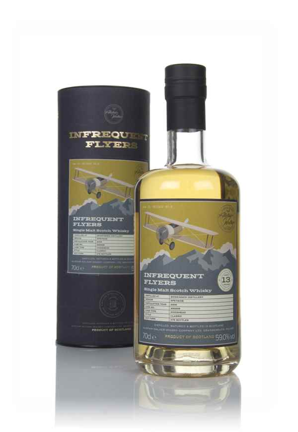 Benrinnes 13 Year Old 2006 (cask 300009) - Infrequent Flyers (Alistair Walker)