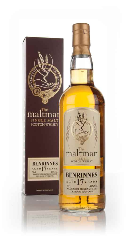 Benrinnes 17 Year Old - The Maltman
