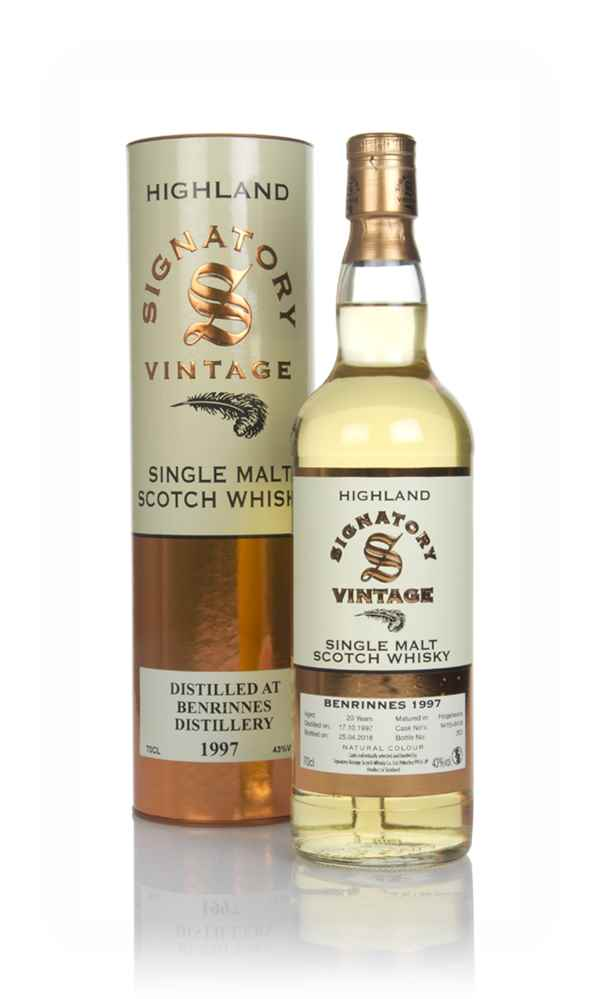 Benrinnes 20 Year Old 1997 (casks 9415 & 9416) - Signatory