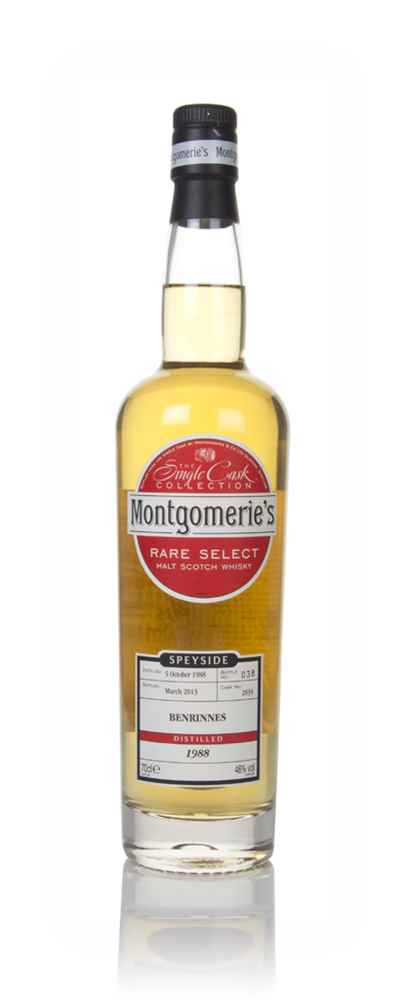Benrinnes 24 Year Old 1988 (cask 2835) - Rare Select (Montgomerie's)