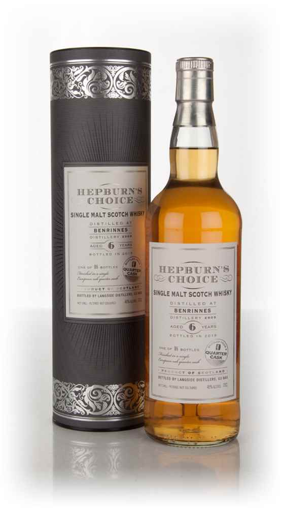 Benrinnes 6 Year Old 2009 (bottled 2015) - Hepburn's Choice (Langside)