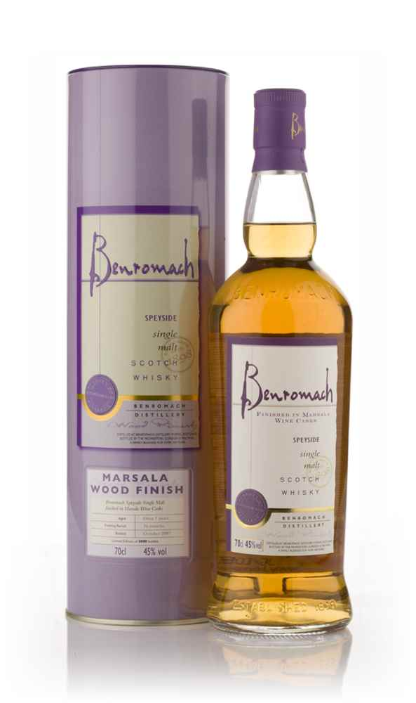 Benromach 2000 Marsala Wood Finish