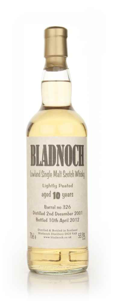 Bladnoch 10 Year Old Lightly Peated